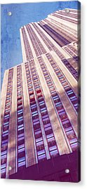 Empire State Building Acrylic Print by Chris McKenna