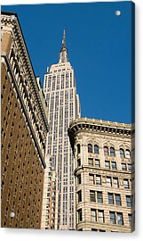 Acrylic Print featuring the photograph Empire State Building by Michael Dorn