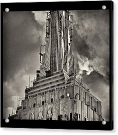 Empire State Building Acrylic Print by Scott Radke