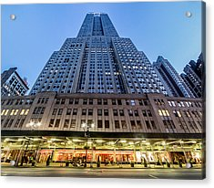 Acrylic Print featuring the photograph Empire State Building by Steve Zimic