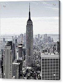 Empire State Acrylic Print by CD Kirven