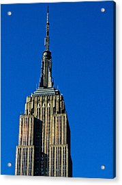 Empire State Of Mind  Acrylic Print by Jessica Stiles