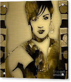 Empire's Grace Gealey Anika Gibbons Acrylic Print