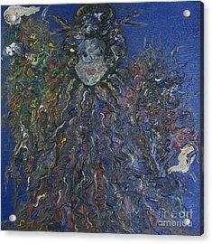 Empress Acrylic Print by Jeanne Ward