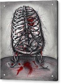 Empty Cage Acrylic Print