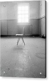 Empty Chair Acrylic Print by Larry Dunstan/science Photo Library