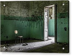 Empty Crazy Spaces Acrylic Print