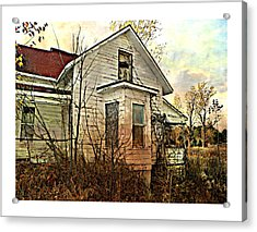 Empty Dreams  Acrylic Print by Dianne  Lacourciere