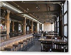 Empty Pub Acrylic Print by Hero Images