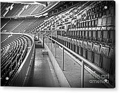 Empty Soccer Stadium Acrylic Print