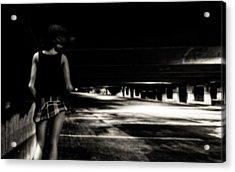 Empty Spaces Acrylic Print by Bob Orsillo