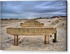 Empty Support Acrylic Print by Mike Horvath