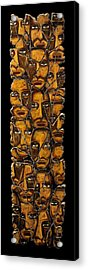 Empyreal Souls No. 5 Acrylic Print by Steve Bogdanoff