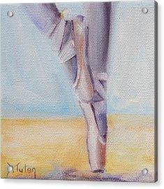 En Pointe Acrylic Print by Donna Tuten
