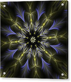 Enamored Mandala Acrylic Print