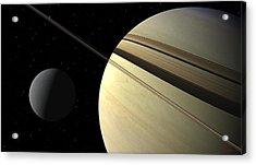 Enceladus Acrylic Print