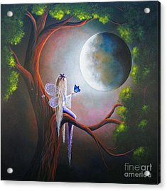 Original Fairy Artwork By Shawna Erback Acrylic Print