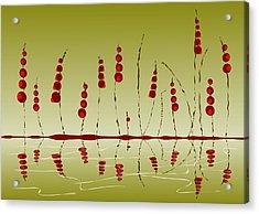 Enchanted Berries Acrylic Print by Anastasiya Malakhova
