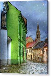 Enchanted. Bratislava Acrylic Print