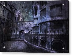 Enchanted Castle Acrylic Print by Evie Carrier