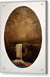Enchanted Falls Acrylic Print by Joyce Krenson