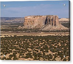 Enchanted Mesa Acrylic Print by Jennifer Nelson