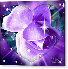 Enchanted Rose Acrylic Print