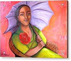 Enchanted Rose Acrylic Print
