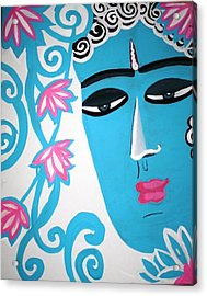 Enchanting Buddha  Acrylic Print by Madhuri Krishna