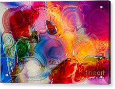 Enchanting Flames Acrylic Print by Omaste Witkowski