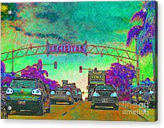 Encinitas California 5d24221p180 Acrylic Print by Wingsdomain Art and Photography