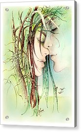 Encounter  From Love Angels Series Acrylic Print