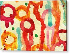 Encounters 3 Acrylic Print by Amy Vangsgard