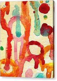 Encounters 5 Acrylic Print by Amy Vangsgard