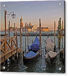 Venice End Of A Day Acrylic Print