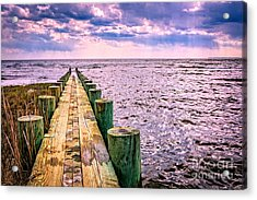 End Of A Glorious Day Acrylic Print by Edward Fielding