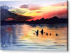 End Of A Perfect Day Acrylic Print