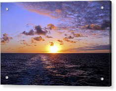 Hawaiian End Of Day Acrylic Print