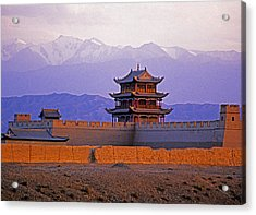 End Of Great Wall Acrylic Print