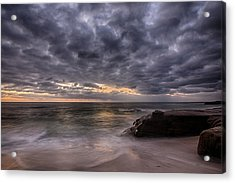 End Of Light Acrylic Print by Peter Tellone