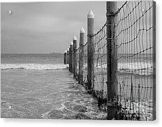 End Of The Beach Acrylic Print