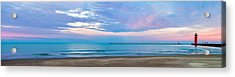 End Of The Blue Hour Acrylic Print