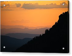 Acrylic Print featuring the photograph End Of The Day by Brad Brizek