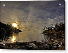 End Of The Day Acrylic Print by Inge Riis McDonald