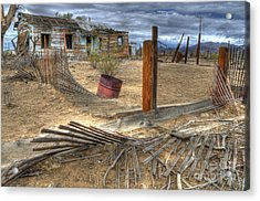 End Of The Dream 2 Acrylic Print by Bob Christopher