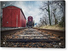 End Of The Line Acrylic Print by Brian Wallace