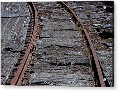 End Of The Line Acrylic Print by Garry Gay