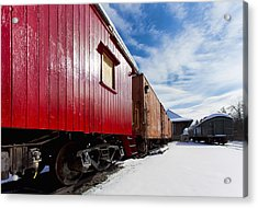 End Of The Line Acrylic Print by Peter Chilelli
