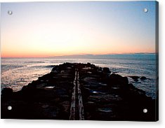 Acrylic Print featuring the photograph End Of The Road by Jon Emery