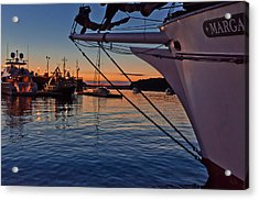 End Of The Sail Acrylic Print